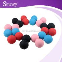 Natural rubber massage therapy balls peanut ball for massage