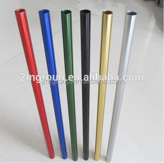 Colored drinking straws , Stainless Steel Straw Pipes , Metal drinking straws
