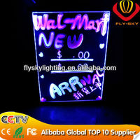 The new style led writing board for outdoor advertising from Yiwu Fly Sky Lighting Factory