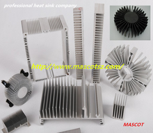 Super extrusion profile quality aluminum cooling fin manufacturer in 2016