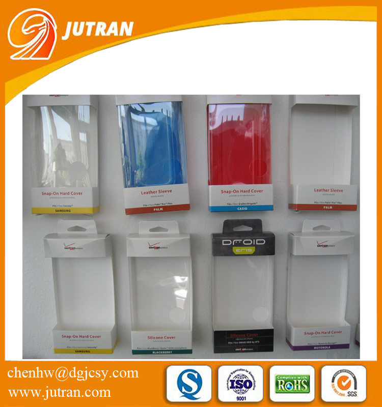 Custom Design Phone Cover/Case Blister Plastic Packaging Box