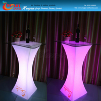 Charming family decoration led party table