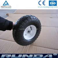 hot sales 10inches tread cart wheel