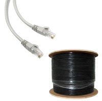 UTP/STP/FTP/SFTP Cat5/Cat5e/Cat6 0.52mm 23awg Outdoor Waterproof 4P lan cable