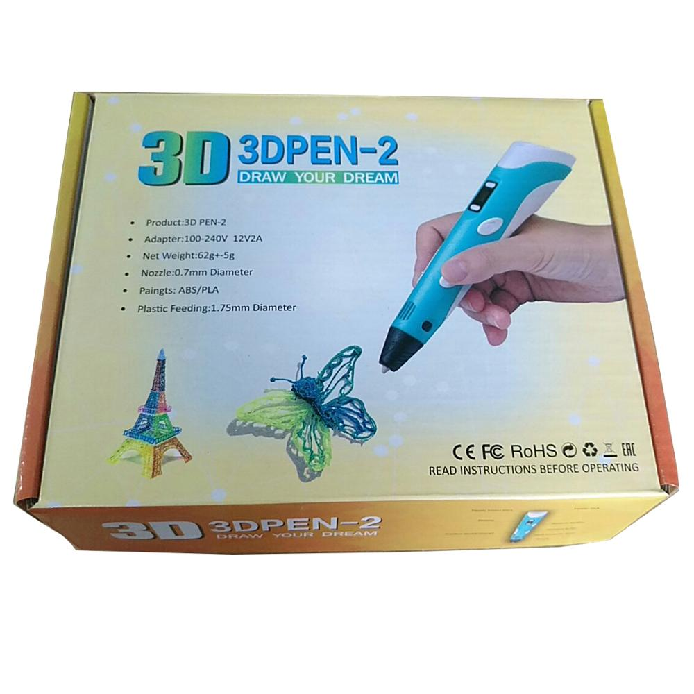 Tuopuke Fashion 3d printer pen kids art drawing pen creative 3d pen Shenzhen OAM/ODM