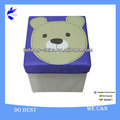 Hottest!!! Foldable children storage stool