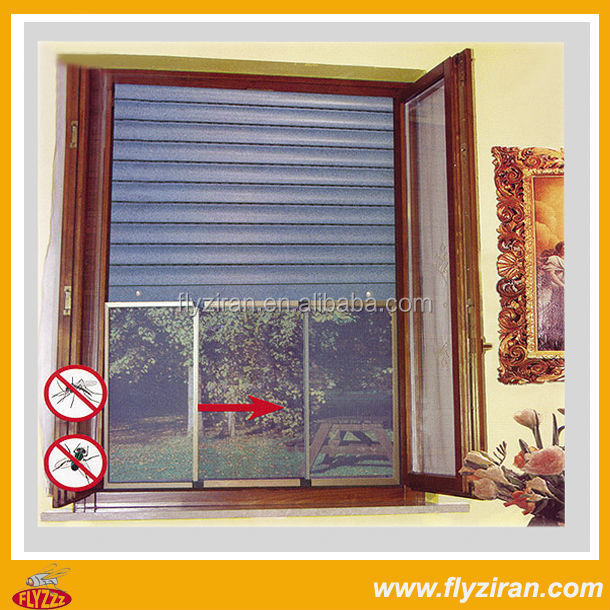 Aluminum Profile Sliding Windows With Mosquito Net