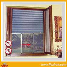 Classical Design Custom Size Aluminum Profile Sliding Up Windows With Mosquito Net