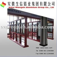 aluminium alloy show cabinet for windows & doors