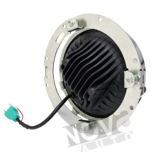 Automobiles & Motorcycles 7'' Round 75W Led Headlight With Hight Low Beam