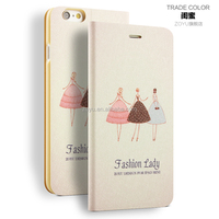 leather flip cover case for iphone case.book style leather case for mobile phone