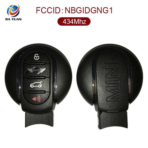 AK006050 remote set transponder key for B MW MINI 3+1button Smart Key (433MHz) FCC ID NBGIDGNG1