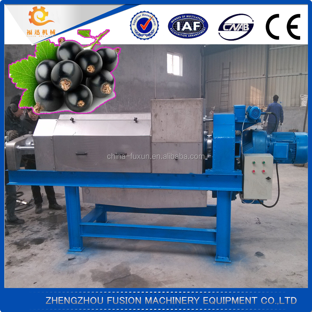High efficiency black currant extract machine/juice extract machine
