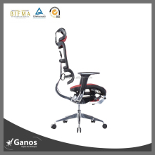 ergonomic high back mesh office chairs with footrest