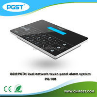 GSM alarm system wireless for home use PG-100, LCD display&touch panel, CE&ROHS approved