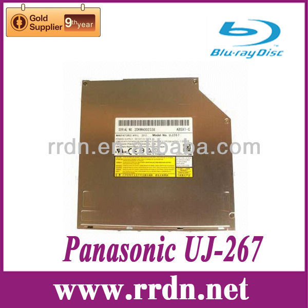 Panasonic UJ-267 Slim Slot in BD RW Drive play Blu-ray movies