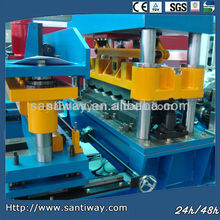 metal tile roof roll forming machine