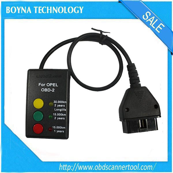 2015 Boyna Professional SI-Reset OBD2 For Opel Car Service Intervall Reset Unit With Diagnostic Connector