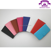 universal leather smart phone cover cases for 4.7 inch mobile cell phones wallet style
