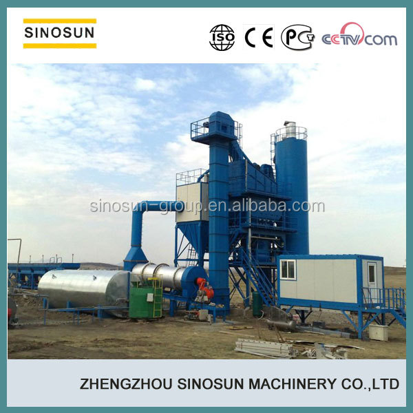 SINOSUN road construction machine 80TPH asphalt plant