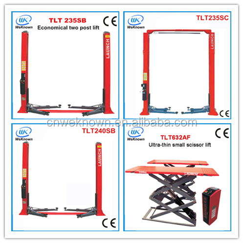 Hot sale portable hydraulic car lift scissor used car lift for sale