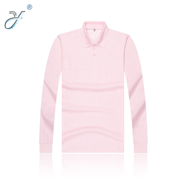 Men's Polo Collar Long Sleeve Undershirts