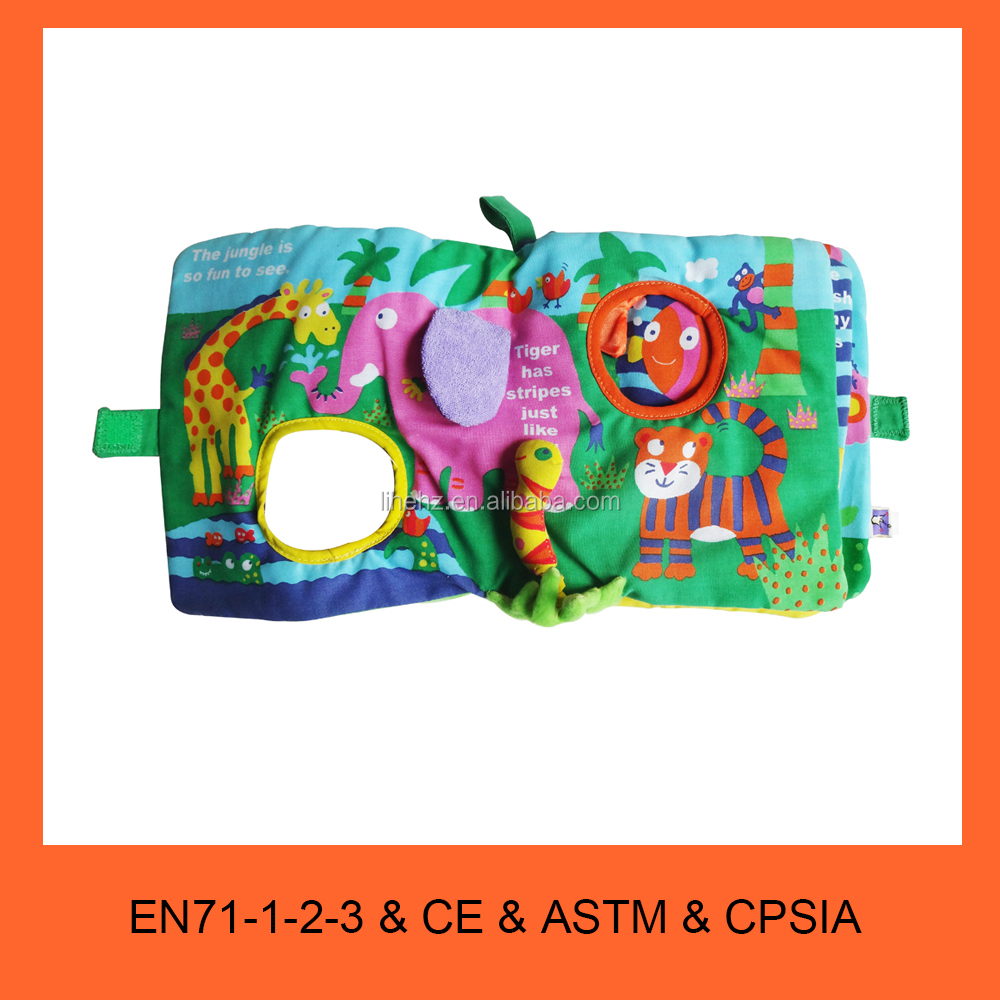 OEM gift Baby Book & Child Children Cloth Book baby kids educational toy product