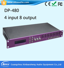 Audio Processor DP-480 Professional Performance Digital Signal Sound Processor with Equalization, Crossover and Signal Delay