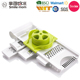 Easy to use and clean manual vegetable grater zester