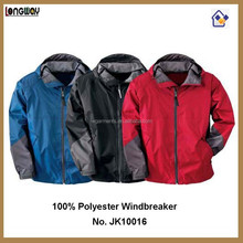 Lightweight Windbreaker Jackets poly/ Nylon Windbreaker Plus Size