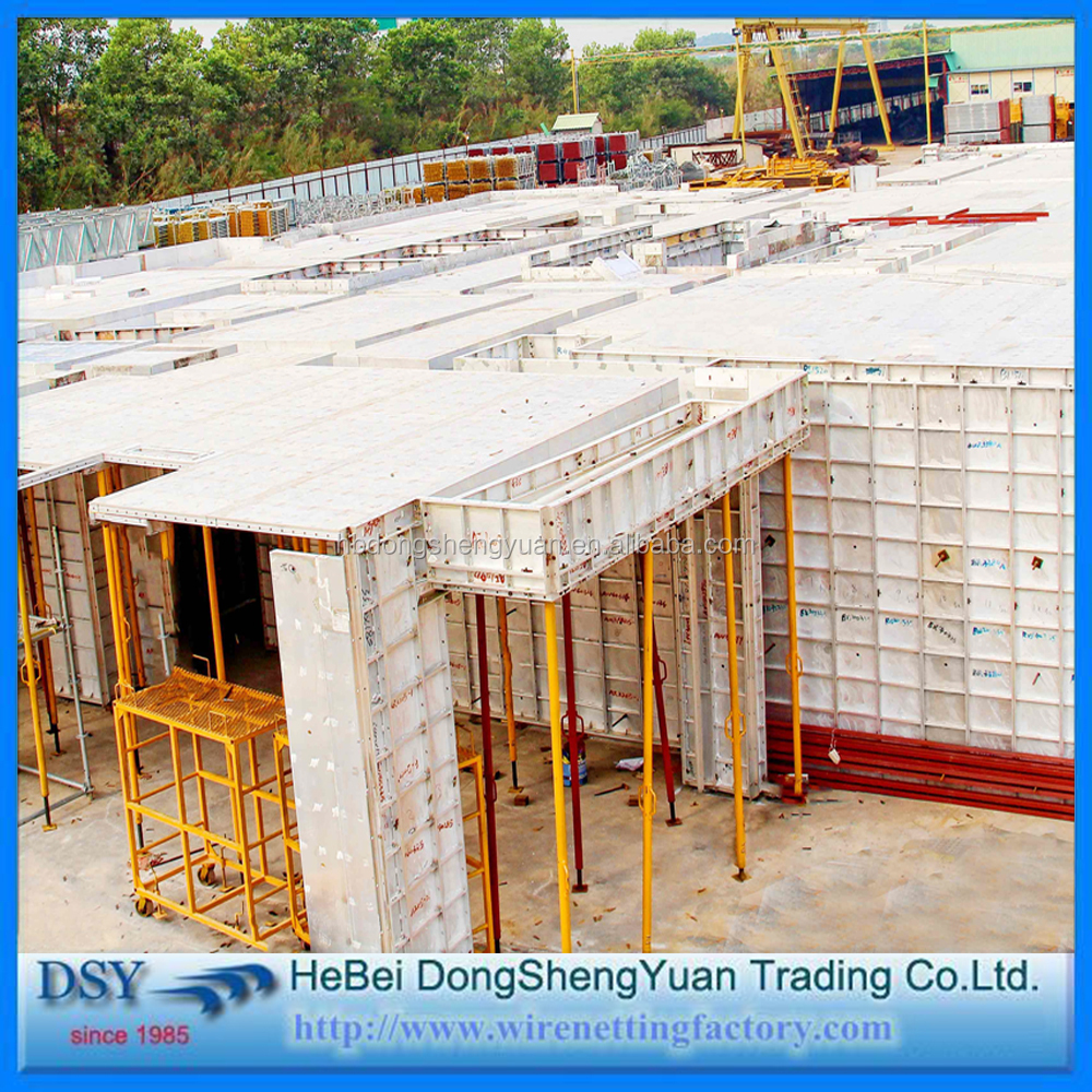 Design Of Concrete Wall Formwork : New design foram concrete formwork aluminum
