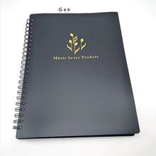 High Quality A4 Inch Paper PVC Music Note File Folder
