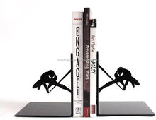 Laser cut SPIDERMAN iron bookends