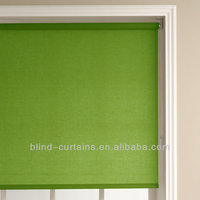 Indian beaded roller blind and curtain