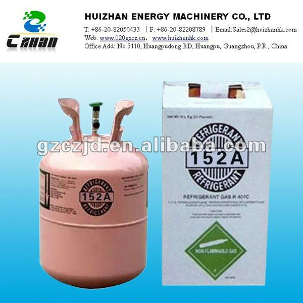 99.9% purity Refrigerant Gas R-152a (1 1-DIFLUOROETHANE) manufacturer