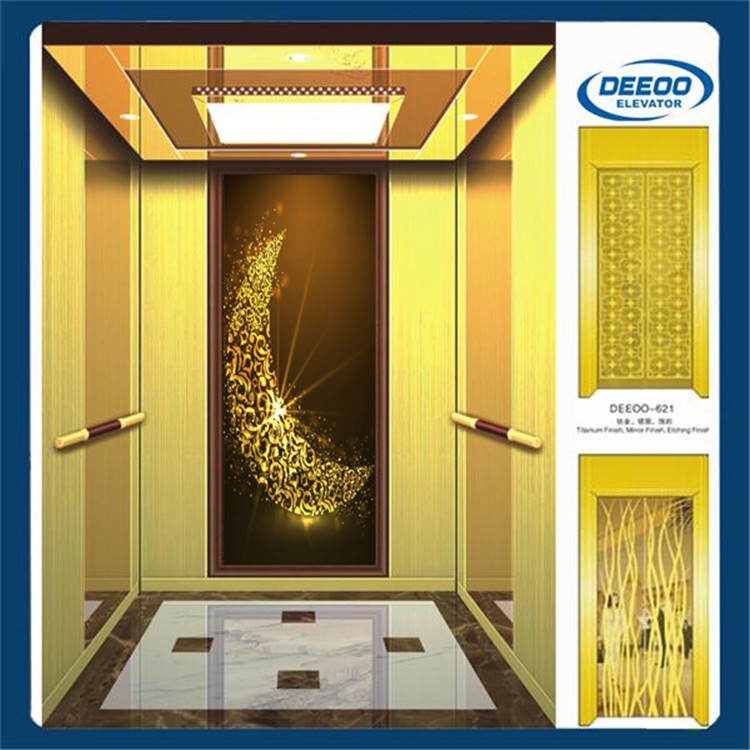 china factory human best high quality machine room elevaor lift