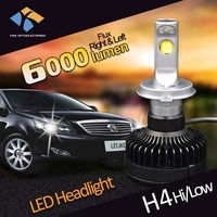 Hot selling high low beam led auto mazda 6 premacy h4 led headlight