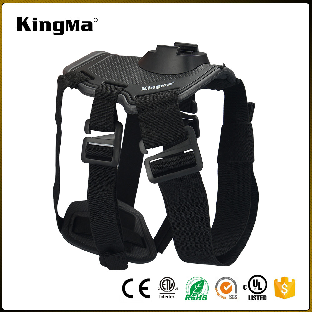 KingMa New GoPros Fetch dog harness,for GoPros Heros 5/4/3+/3/2/1. Same as original one