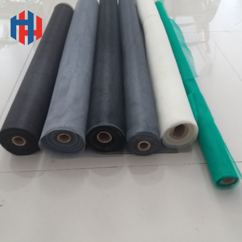 16 x18 mesh 115g/sqm fiberglass wire plain weaving window screen for prevent from moquito/ fly/ insect used in home