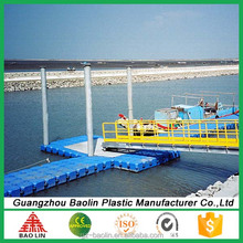 Plastic modular plastic boat dock floats plans in China