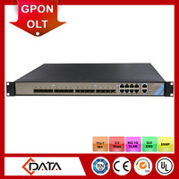 Telecomunication equipments outdoor gpon olt for FTTB / FTTH