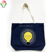 newest fashion hot sell Promotional gift reusable 16oz Heavy duty cotton canvas shopping tote bag