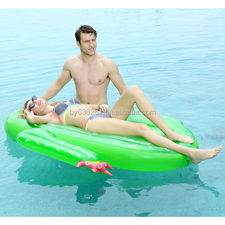 Inflatable pool water float for swimming