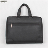 Latest design from Guangzhou factory men custom leather briefcase with handle high quality OEM logo leather briefcase