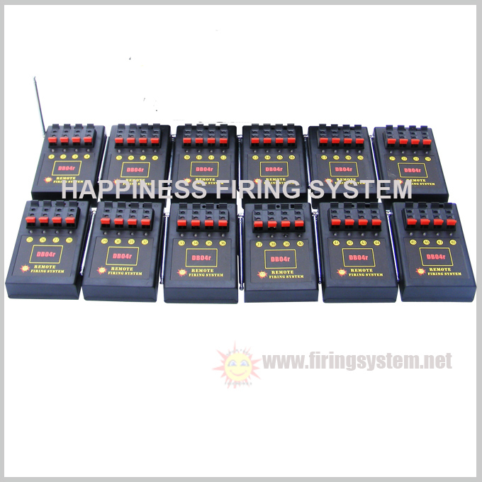 48 cues 500M remote control firing system fireworks