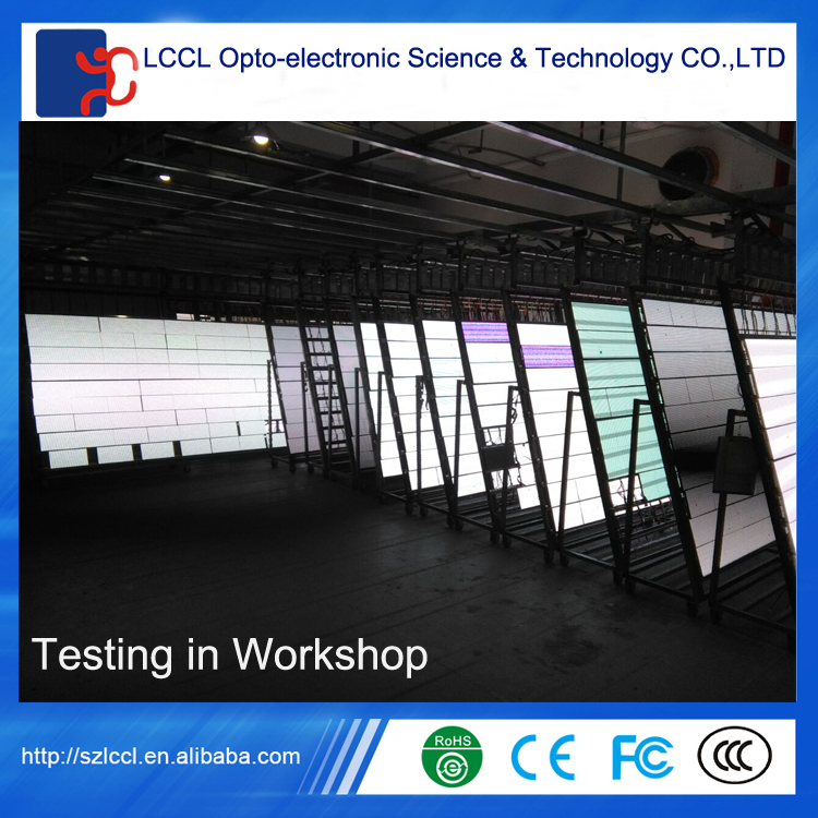 High quality outdoor P8 256X128mm full color led display module IP65 P8 led display panel