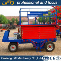 China famous brand scissor motorcycles platform lift