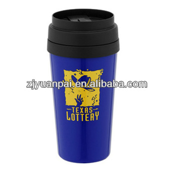 220ml reusable double wall hot and cold plastic cup