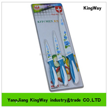3pcs kitchen knife set