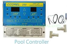 CCOREL 250 Series pool controller for test swimming pool ph and orp